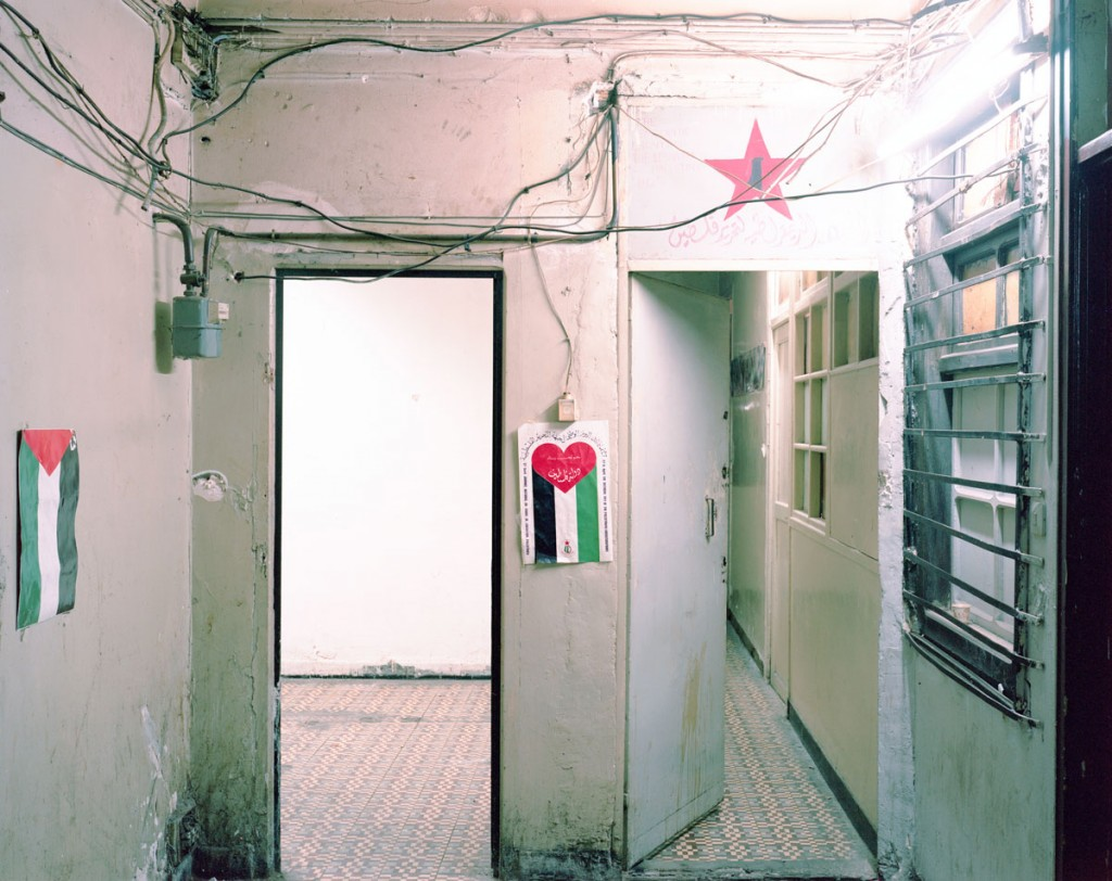 Headquarter of the DFLP delegation {Democratic Front for the Liberation of Palestine), Algiers City Center. C-Print, 2015. 80 x 100cm