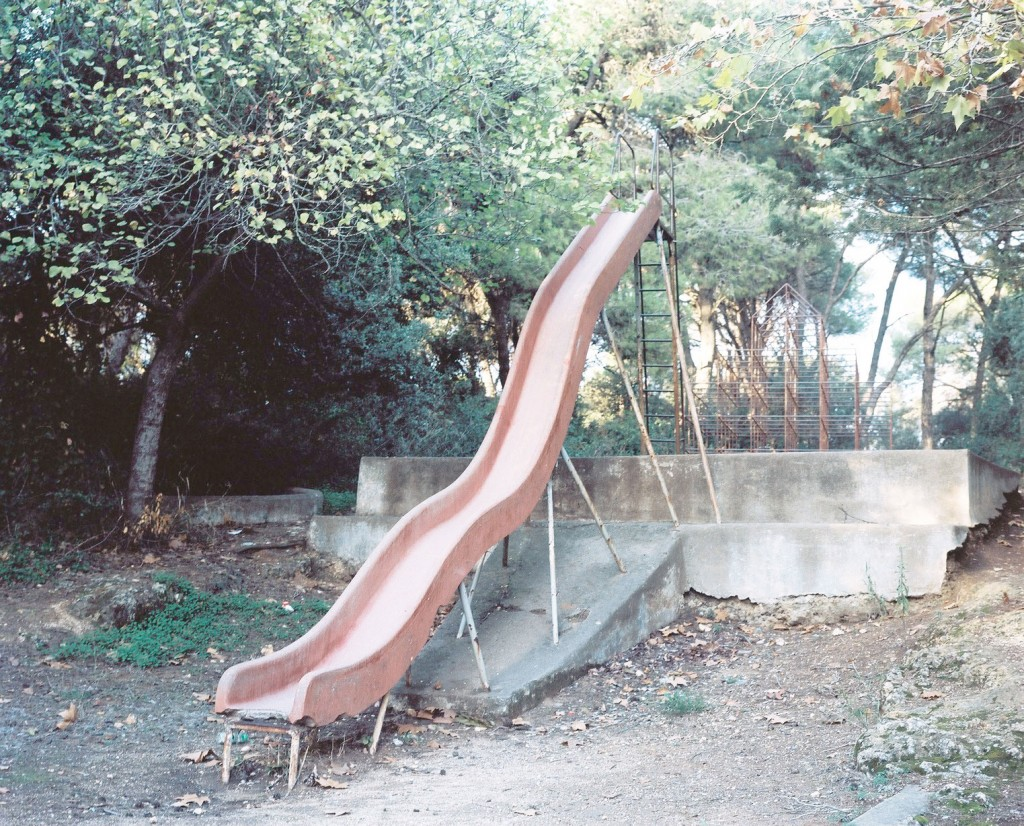 Centre Familial de Ben Aknoun, Ben Aknoun area. Fig. 3: Playing Field. C-Print, 2015. 80 x 100cm