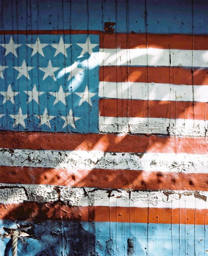 Lost Boats, Detail: Flag. 2012. C-Print. 100X80cm