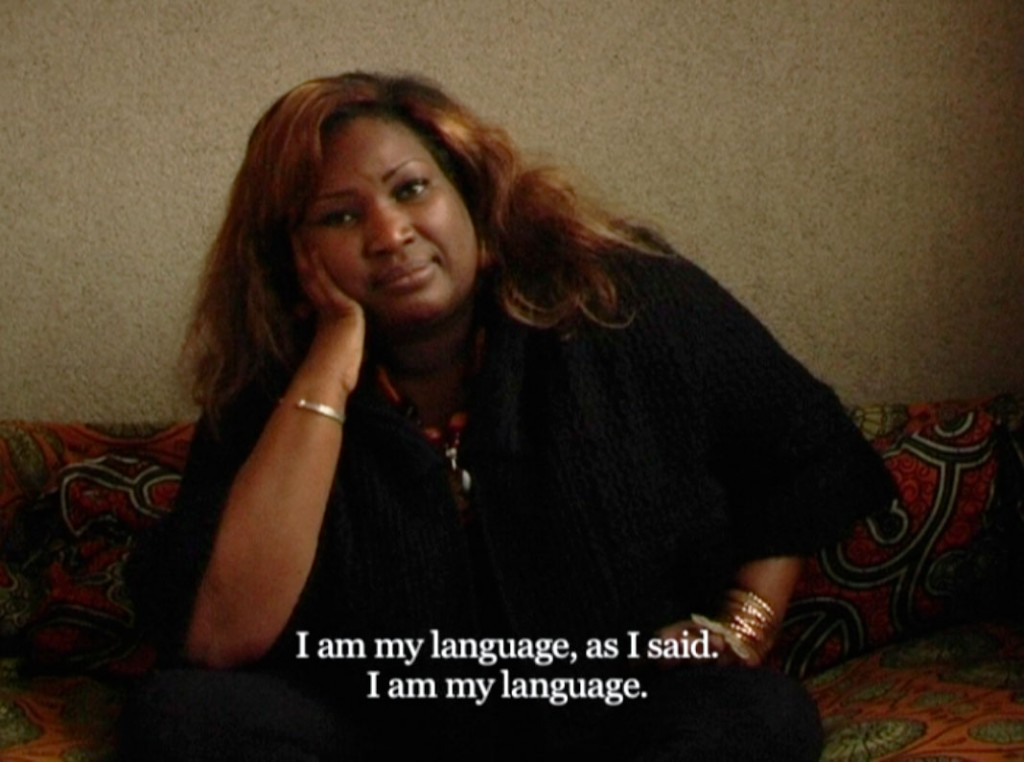 Speeches - Chapter 1: Mother Tongue. Digital film. 2012. 23'. From The Speeches Series (2012-2013).