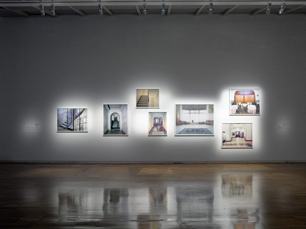 "View of Foreign Office at ""Blackboard"", solo exhibition, Jeu de Paume, Paris, 2018"